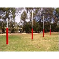 AFL Goals Steel Senior (set of 8) *plus delivery