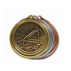 Swimming Gold Medal with Neck Cord
