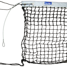 Deluxe Tennis Net With Double Mesh Top (6 rows)
