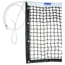 Pro Tennis Net with double mesh top 6 rows and side sticks