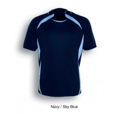 Navy/Sky Soccer Tees with Numbers - Set of 15
