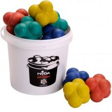 Bucket of Agility Balls 100mm (8 balls + 5 Ltr Bucket)