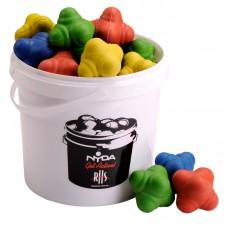 Bucket of Agility Balls 70mm (15 balls + 5 Ltr Bucket)