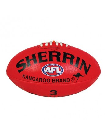 Sherrin Synthetic Size 3 Football Red