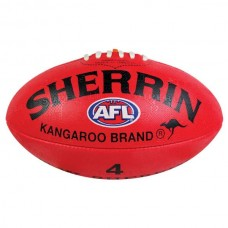 Sherrin Synthetic Size 4 Football Red