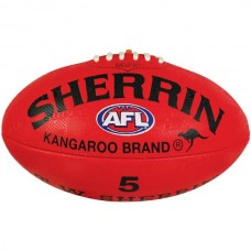 Sherrin Synthetic Size 5 Football Red