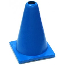 Witches Hat Deluxe PVC 20cm Blue