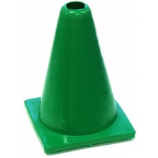 Witches Hat Deluxe PVC 20cm Green