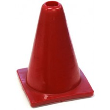 Witches Hat Deluxe PVC 20cm Red