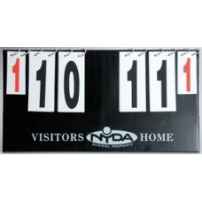 Nyda Scoreboard Flip Over Style
