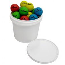 Bucket High Bounce Balls (24 Balls + 5 Ltr Bucket)