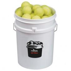 Bucket Coaching Tennis Balls (6doz Balls + 20 Ltr Bucket)