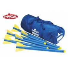 Foam Javelin Kit - 6 + large bag
