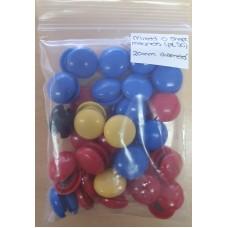 Mixed O Shape Magnets - Pk 50