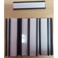 U Shaped Magnetic Tags - Pkt 25 - 60mm x 15mm