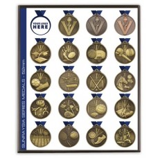 Specialty Sport Medals with Neck Cord