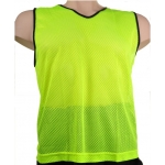 Training Vest Fluro Yellow - Set of 10 - Small