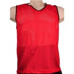 Training Vest Red - Set of 10 - Small